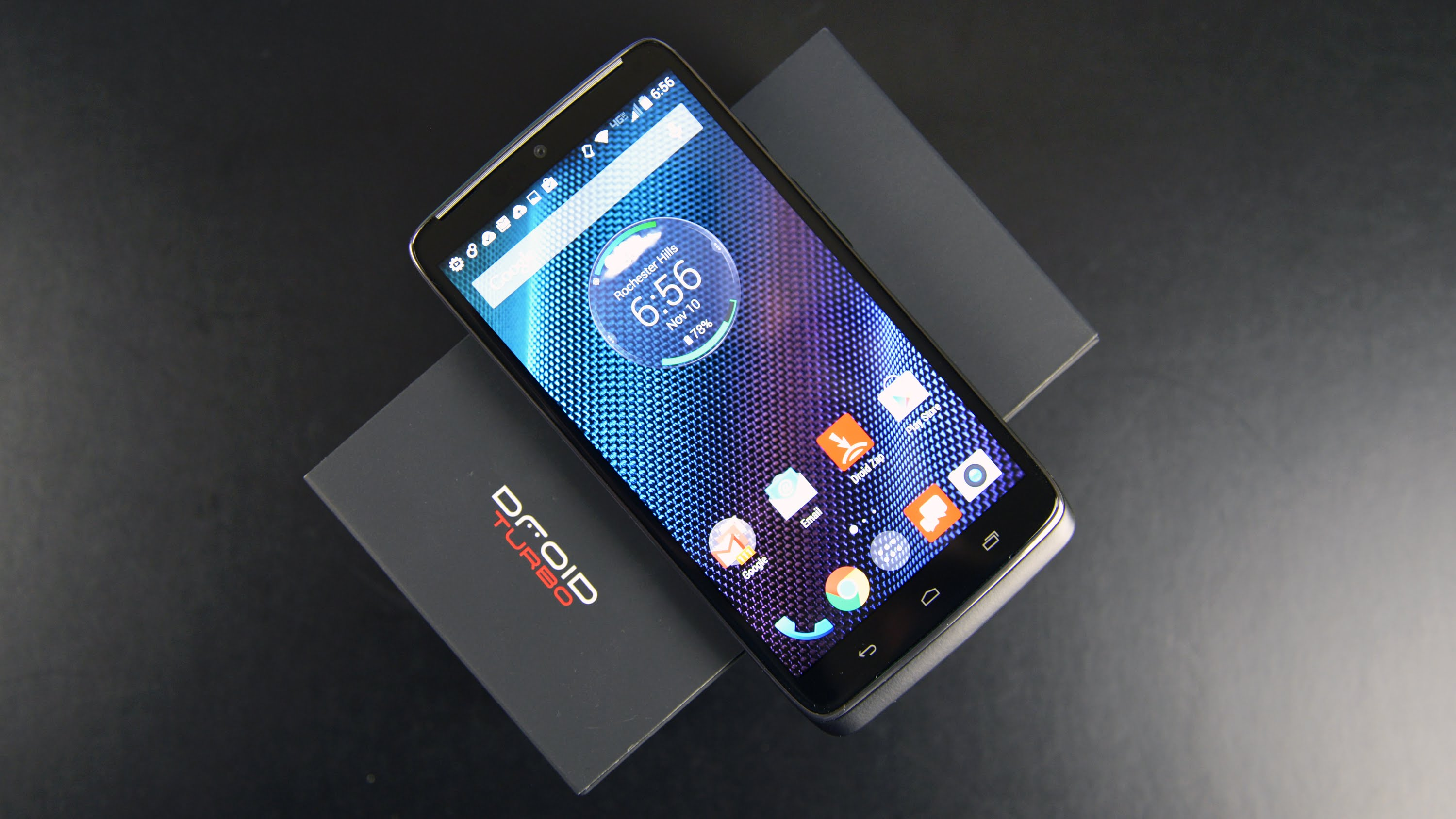 Motorolla Droid Turbo badfive