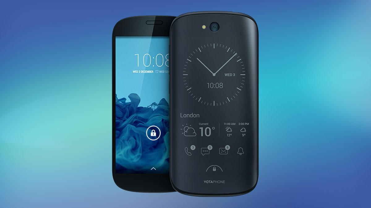 YotaPhone 2 badfive
