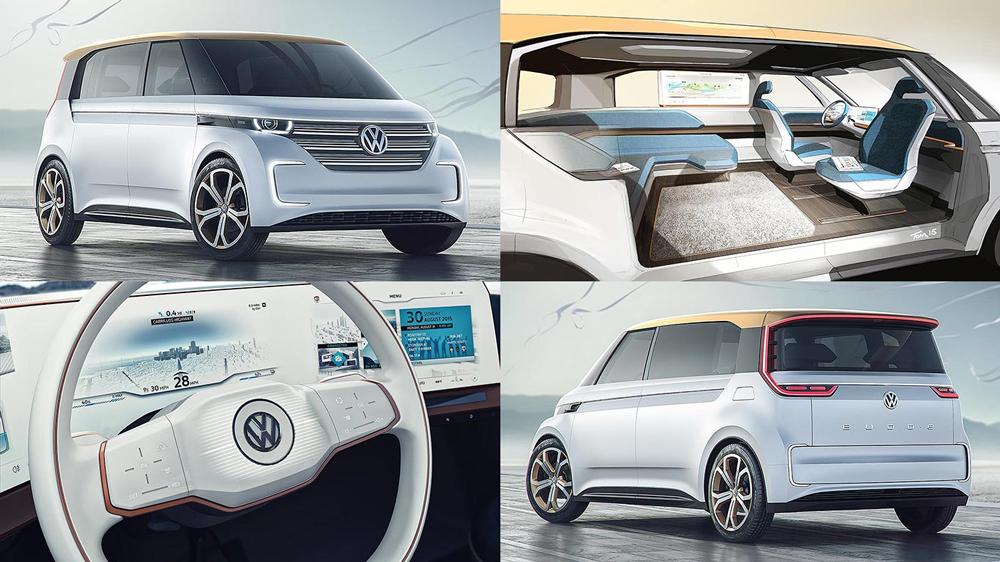 Volkswagen BUDD-e, Electric Car