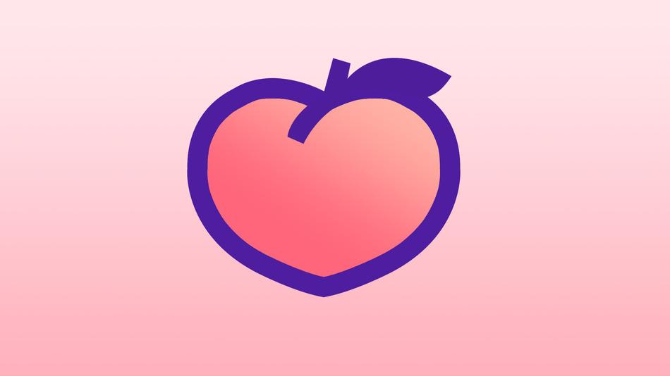 Peach social badfive