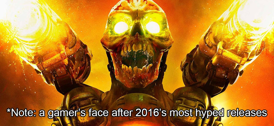 Top 5 disappointments of 2016 BadFive Article Gaming